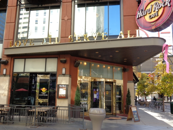 Hard rock cafe 16th street mall